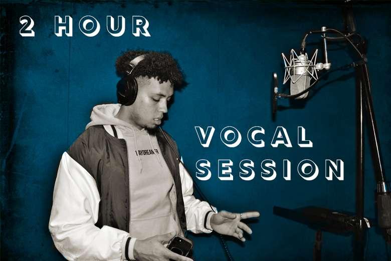 2 Hour original song vocal session (Lockdown Sale)